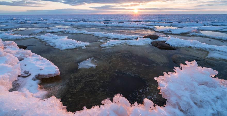 Unser Reisetipp: Fahrt man im Winter an die Ostsee!