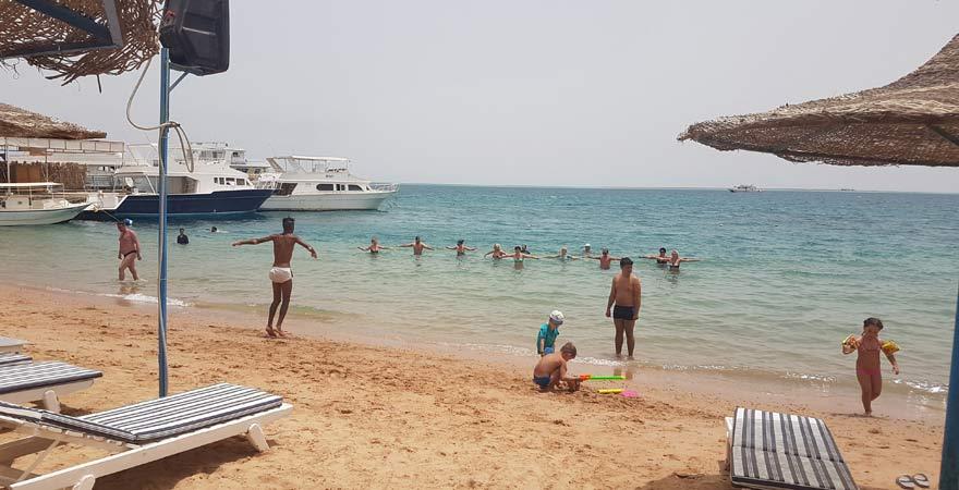 Wassergymnastik, Marlin Inn Azur Resort