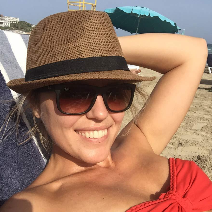 Antonija am Strand, Malta