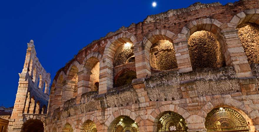 Die Arena in Verona ist UNESCO-Weltkulturerbe