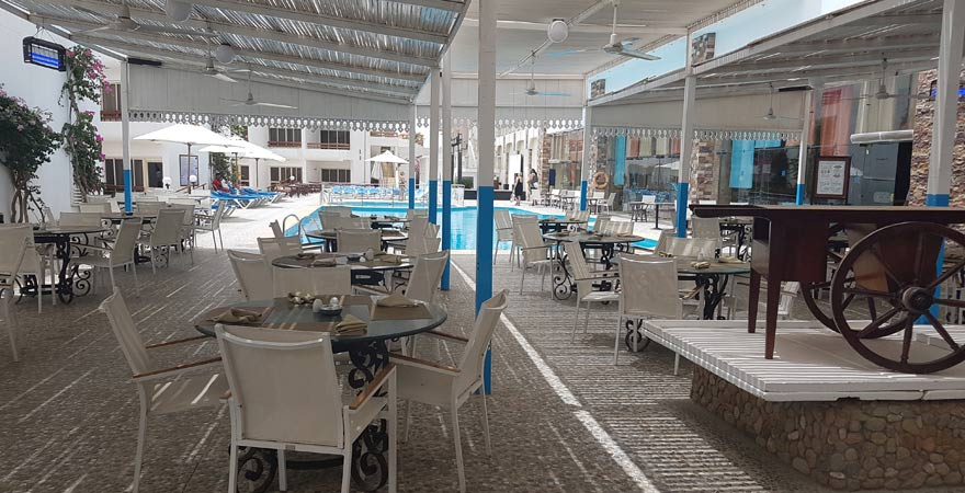 Hauptrestaurant Marlin Inn Azur Resort