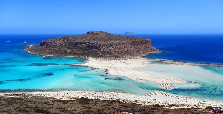 Balos Beach ist ein schöner Strand auf Kreta und ein super Reisetipp