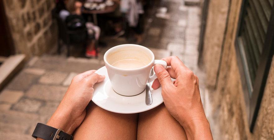 Café in Dubrovnik
