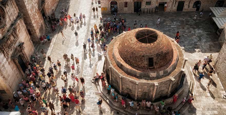 Dubrovnik ist ein interessantes Ausflugsziel für den Familienurlaub in Kroatien