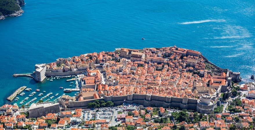 Panorama auf Dubrovnik
