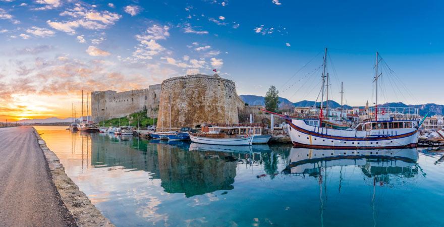 Festung von Kyrenia auf Zypern ist ein echter Reisetipp für Kulturfans