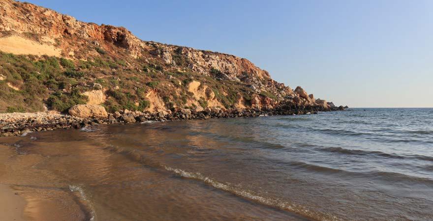 Golden Bay, Malta