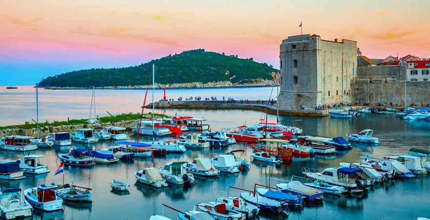 Insel Lokrum vor Dubrovnik