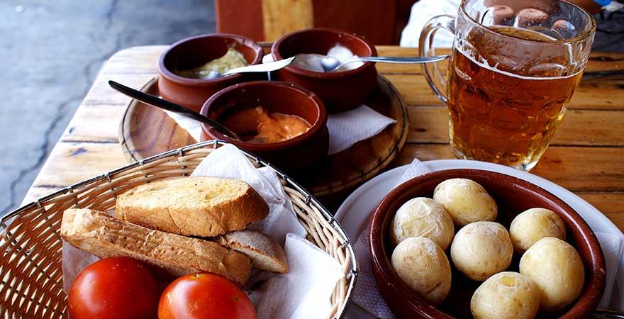 Typisches Gericht auf den Kanaren