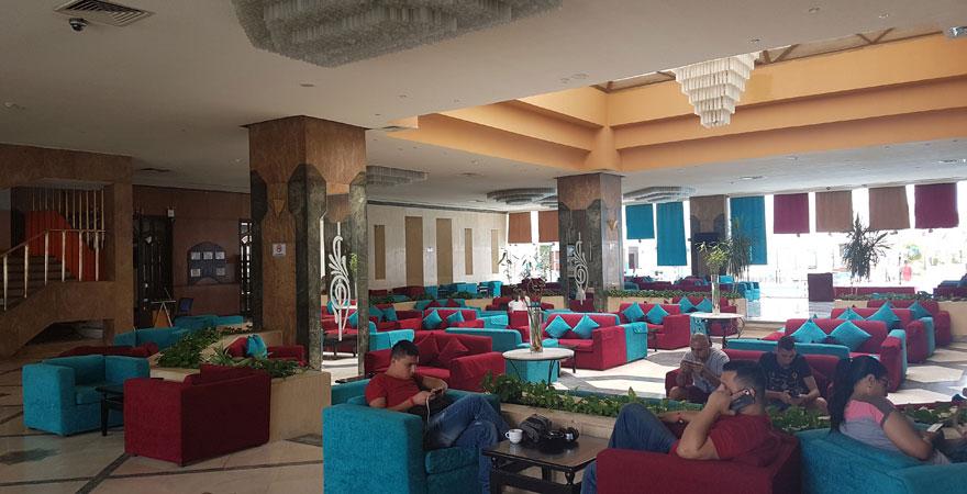 Lobby im Marlin Inn Azur Resort