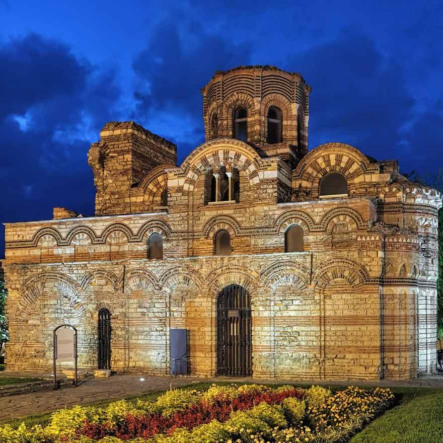 Die Wandmalereien der Pantokratorkirche in Nessebar sind eine beliebte Sehenswürdigkeit