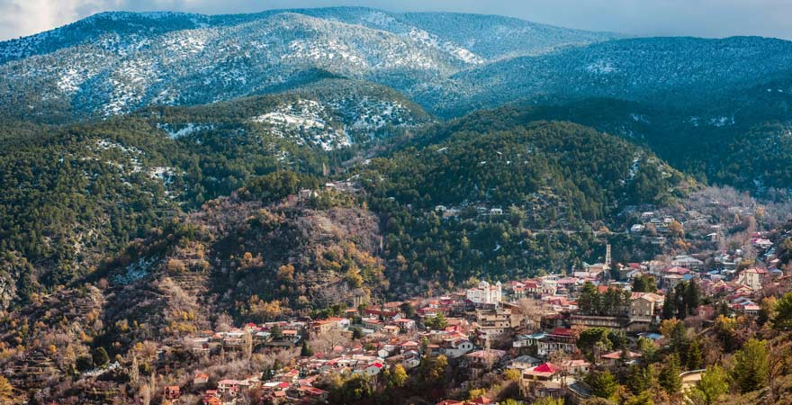 Ein Reisetipp, den ihr in Pedoulas findet: das dortige Kloster ist sehr sehenswert