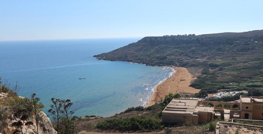 Ramla Bay auf Gozo, Malta