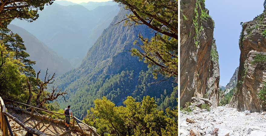 Ein besonderer Ausflugstipp für Kreta: die Samaria Schlucht