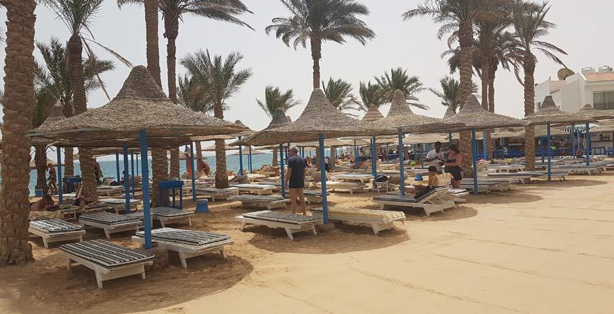 Strand vom Marlin Inn Azur Resort