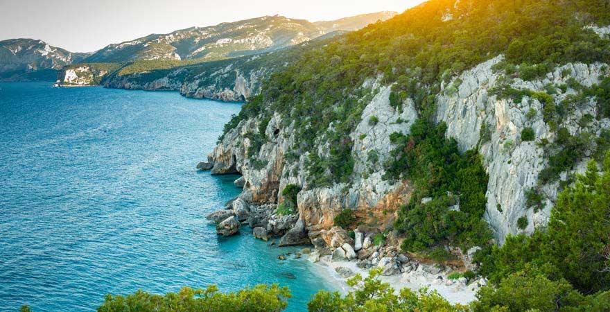 Strand von Orosei, Sardinien