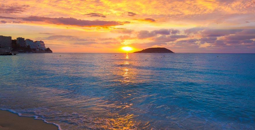 Sonnenaufgang über Magaluf