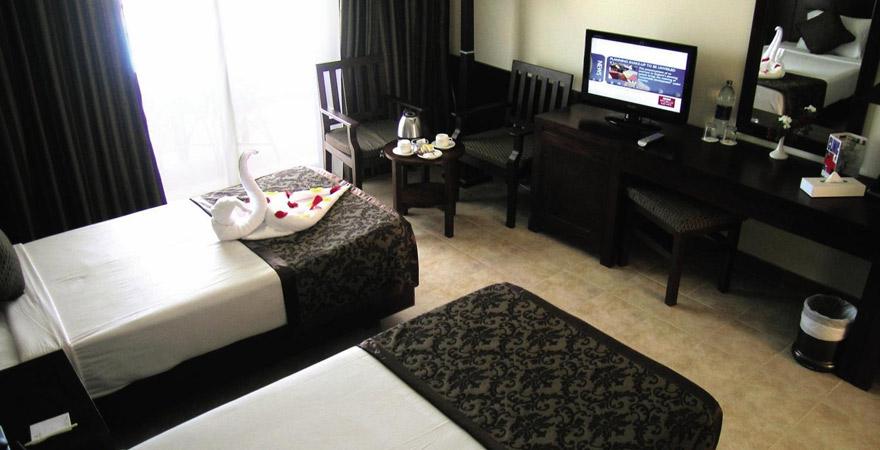 Brayka Bay Resort, Zimmer
