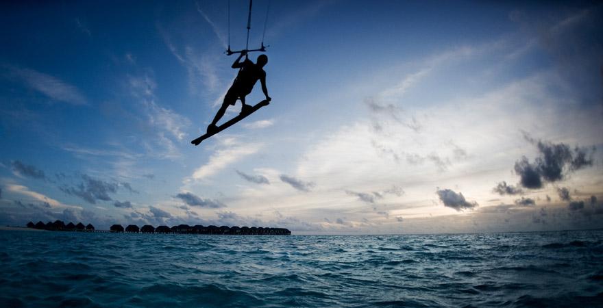 Kitesurfen, Malediven