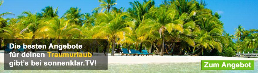 Urlaubsangebote auf sonnenklar.tv