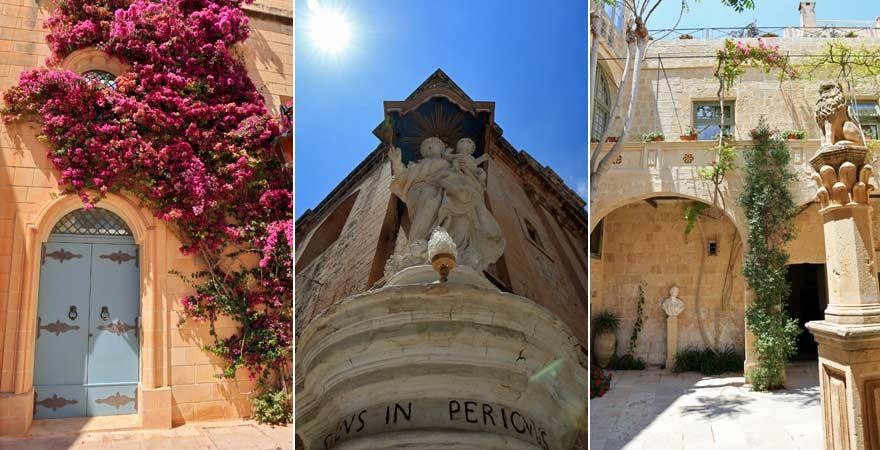 Impressionen von Mdina, Malta