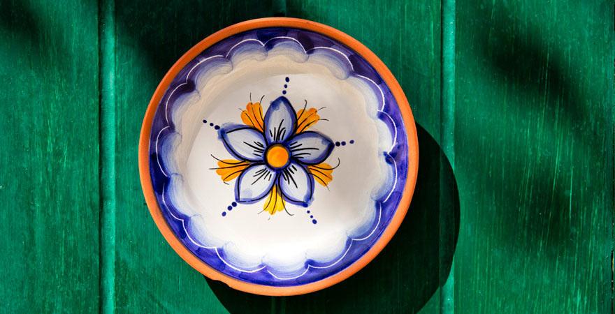 Typische maltesische Keramik