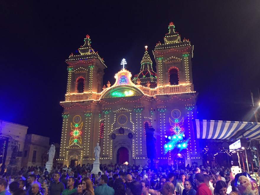 Dorffest in Xaghra