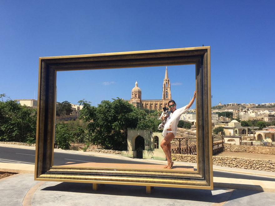 beliebter Fotospot auf Gozo