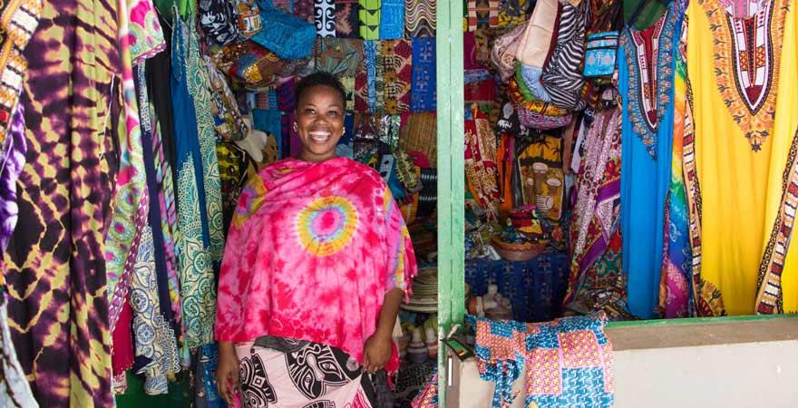 Batik in Gambia