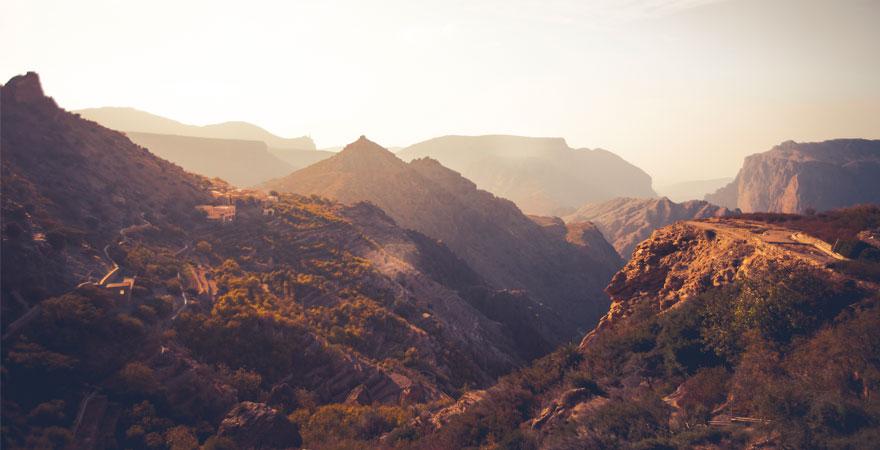 Jebel Akhdar im Oman