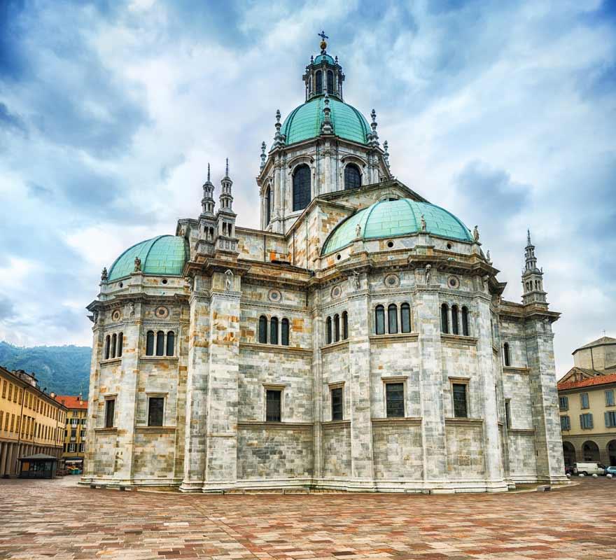 Kathedrale von Como, Comer See