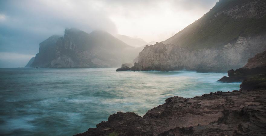 Küste von Salalah, Oman