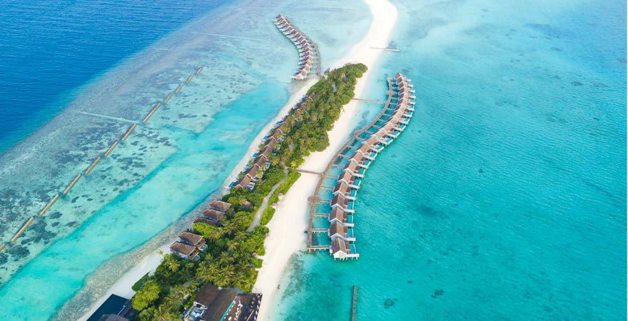 Kuramathi ist ein Tipp unter den Inseln der Malediven