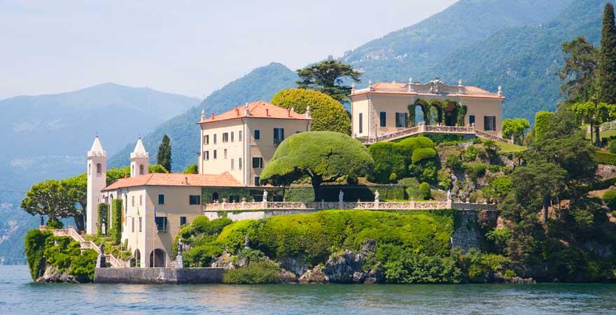 Villa del Balbianello, Lenno, Comer See