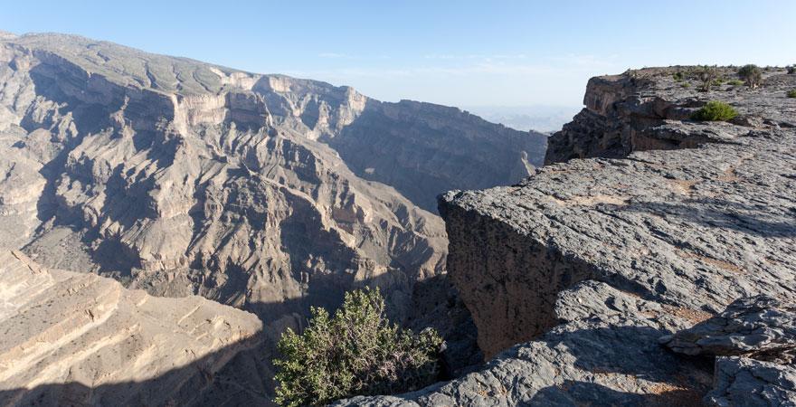 Wadi Ghul im Norden des Omans