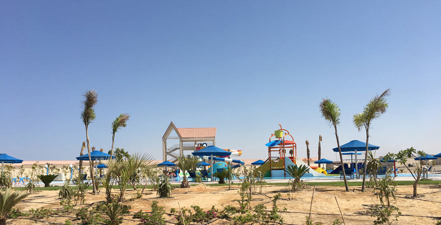 Aquapark vom Albatros Sea World Marsa Alam