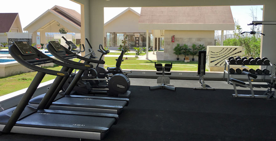 Fitnessstudio im Albatros Sea World Marsa Alam