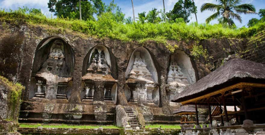 Gunung Kawi, Königsgräber, Bali