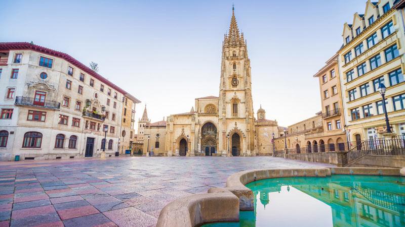 Kathedrale von Oviedo, Jakobsweg, Spanien
