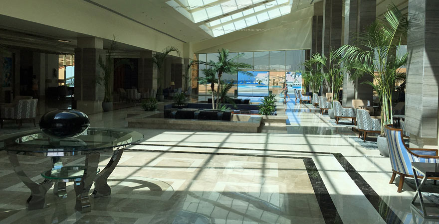 Lobby im Albatros Sea World Marsa Alam