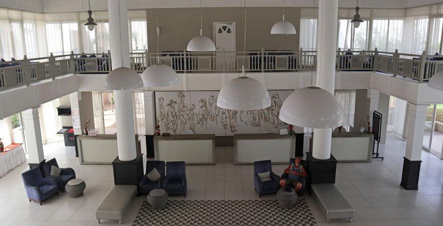 Die Lobby im Les Dunes d'Or