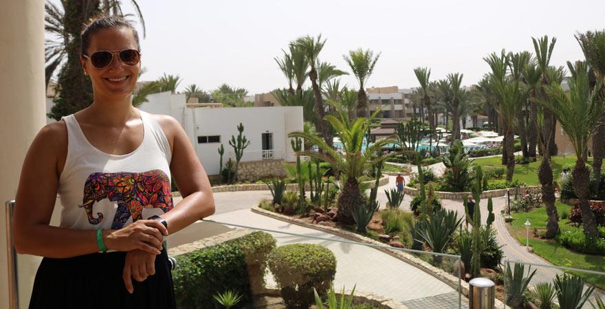 Rundgang durch das Les Dunes d'Or in Agadir