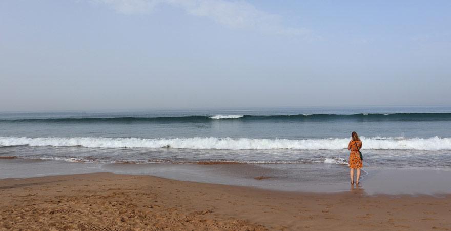 Strandabschnitt vor dem Les Dunes d'Or