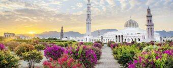 Sultan Qabus Moschee in Maskat im Oman