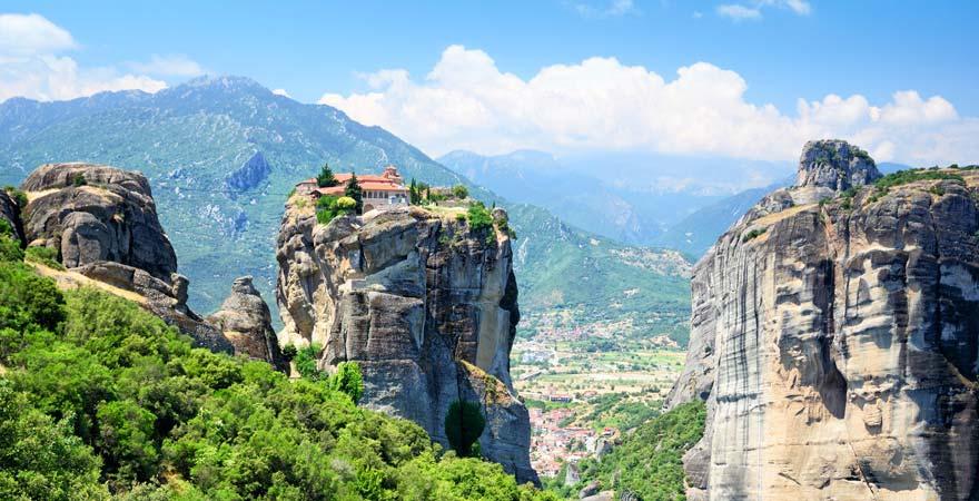 Kloster Varlaám, Méteroa-Gebirge, Griechenland