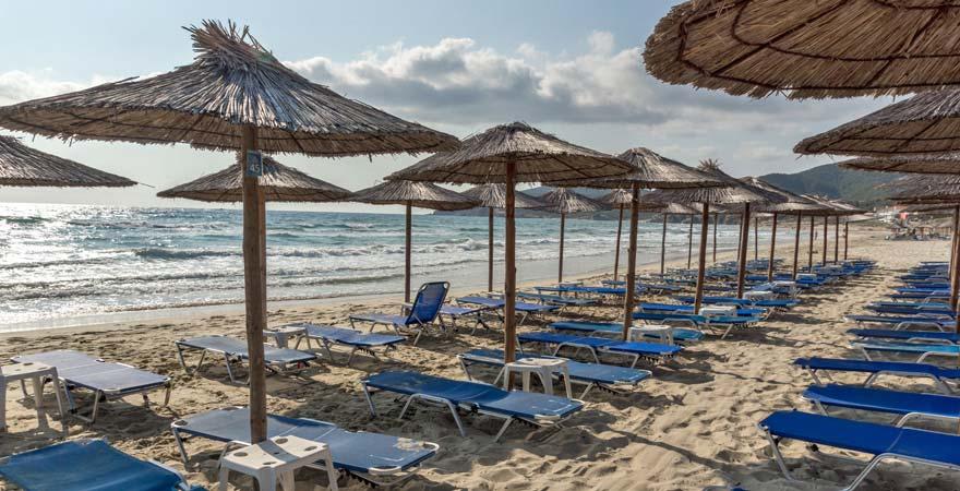 Strand von Sarti, Chalkidiki