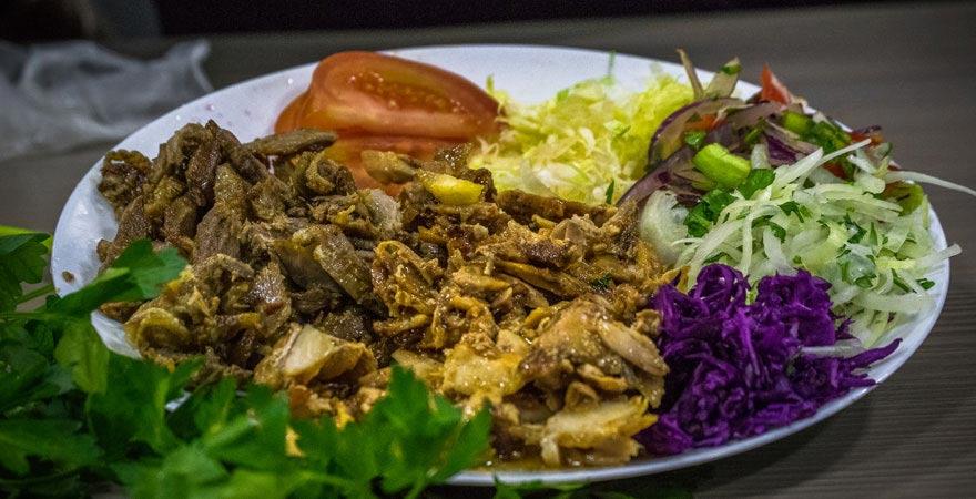 Typisches Essen im Oman