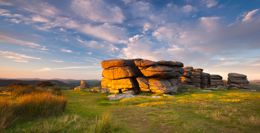 Combestone-Tor, Dartmoor-Nationalpark