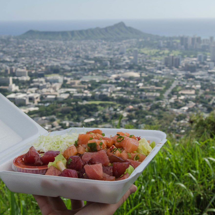 Poke Bowl auf Hawaii