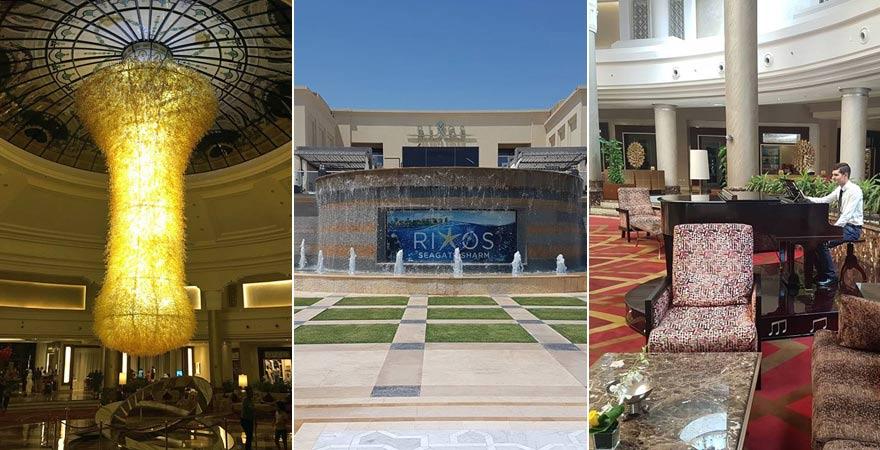 Impressionen vom Rixos Seagate Sharm